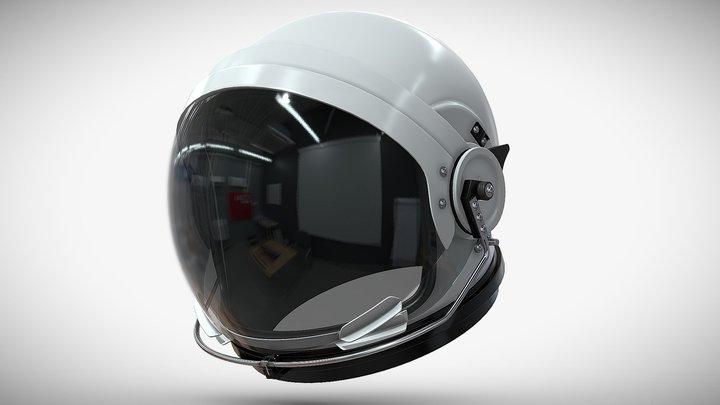 Orion Astronaut Suit Helmet 3D Model