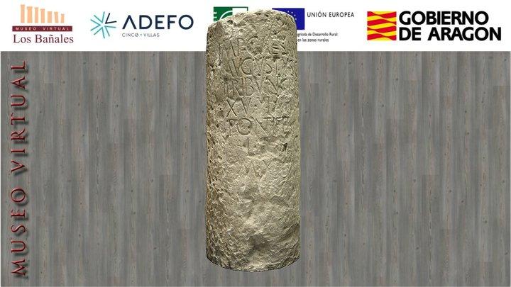 Miliario de Augusto (años 9-8 a. C.) 3D Model