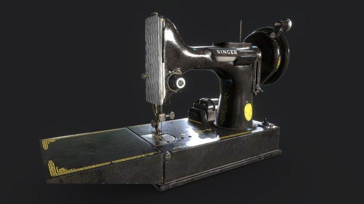 Singer Featherweight 3D Model