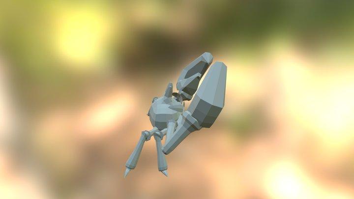 Krabby 3D Model