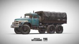 PUBG: Truck (Official) 3D Model