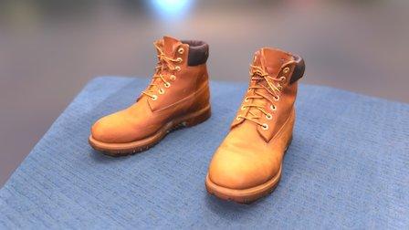 Timberland boots 3D Model