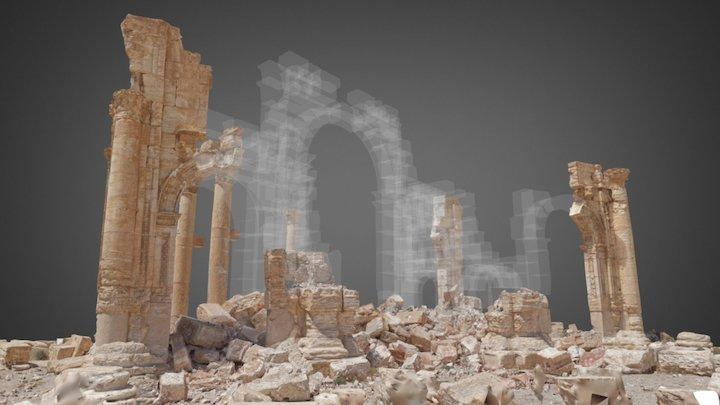 Palmyre : Arche 3D Model