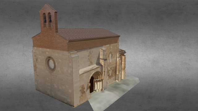 Iglesia de San Juan de Jerusalen 3D Model