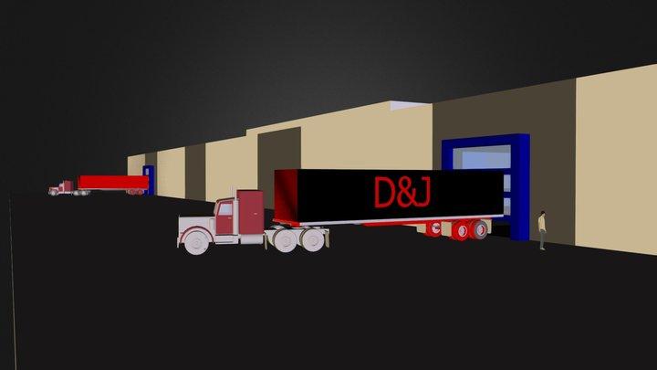 plan prévisionnel01 3D Model