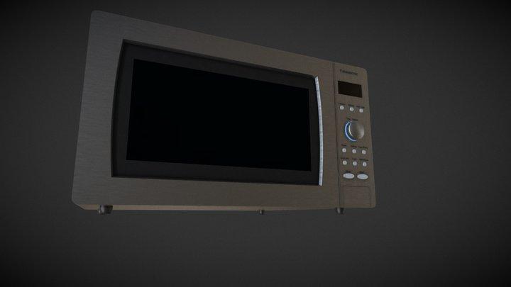 Microwave - free 3D Model