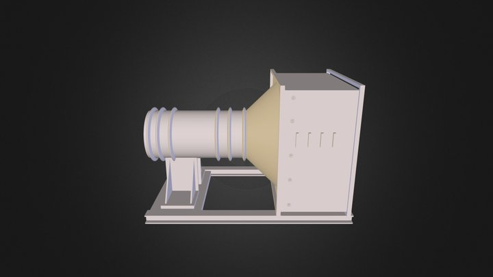 Dust Extractor F 3D Model