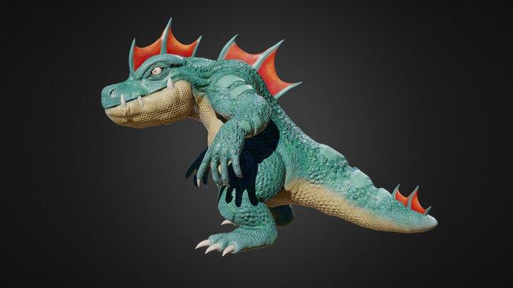 Feraligatr 3D Model