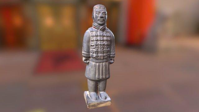 Terracotta Warrior 3D Model