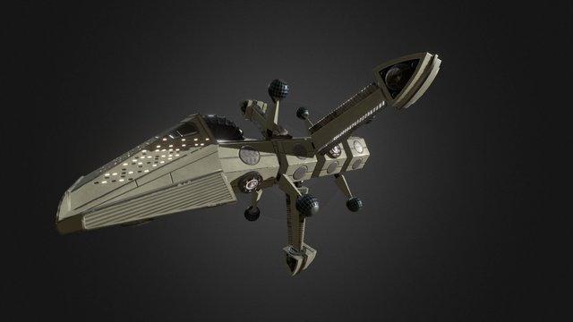 Arconian Mothership 3D Model