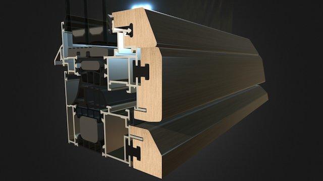 Proba sklopa lineal 104 3D Model
