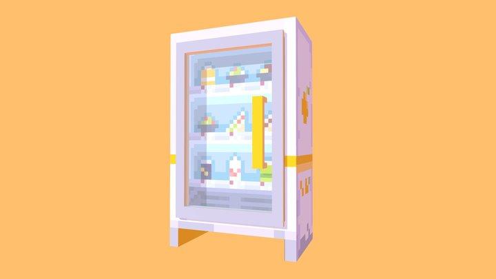 [みかんGO] Fridge 3D Model
