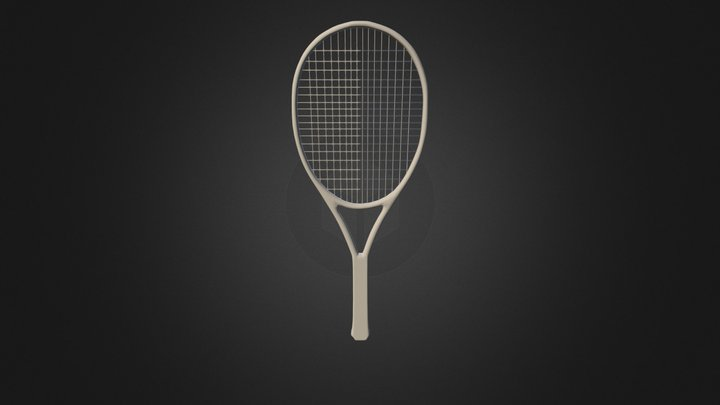 Racket 3D Model