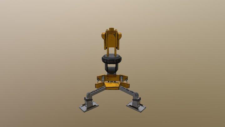 turret Borderlands pt 2 3D Model