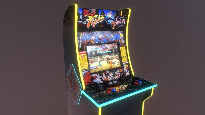 Final Fight Arcade 3D Model