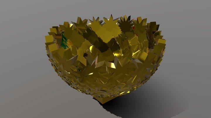 Parametric Holder Design 3D Model