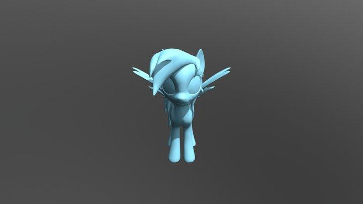 Rainbow Dash 3D Model