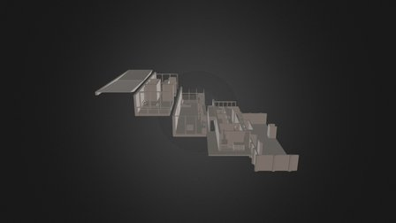 M153B - Apartment Floors 3D Model