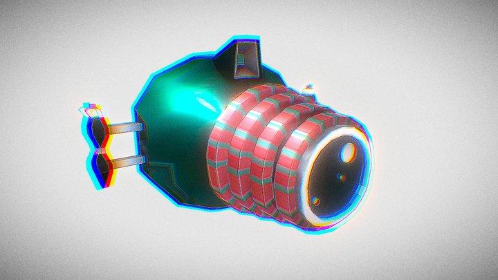 Retrofuturism - Standard Asset 3 - Camera 3D Model