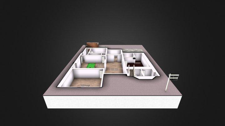 Basment exsample1 3D Model