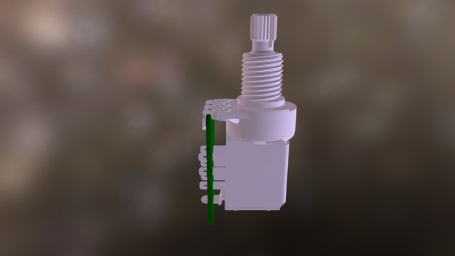Tone Pot for 2ppt-2v-kp 3D Model