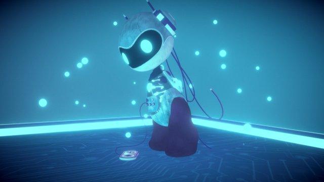 ROBOT G-COM - gamescom character 3D Model