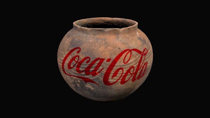 Coca Cola Vase 3D Model