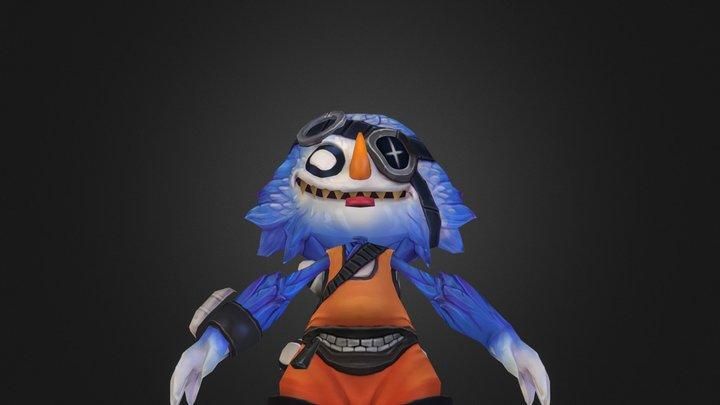 Mr GG Model 3D Model