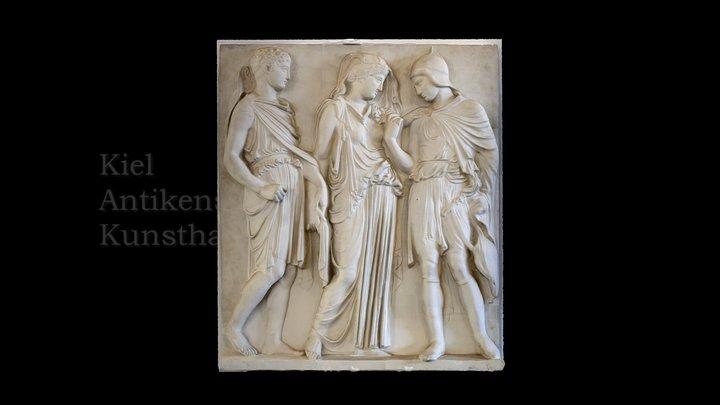 Orpheus-Relief v.2 3D Model