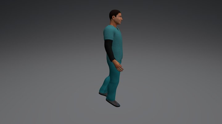 1- Under Clothes 3D Model
