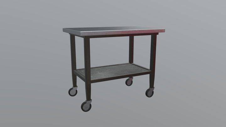 Table Trolley 3D Model