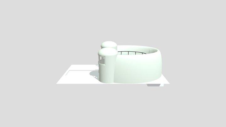 Church Fam Lucky Hs House 3D Model