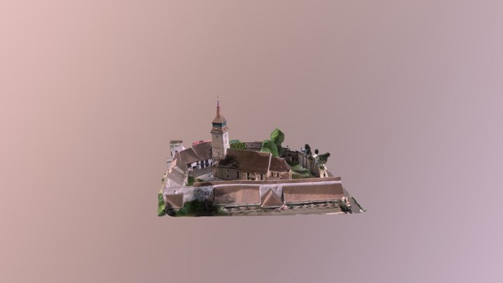Vulcan fortified church 3D Model