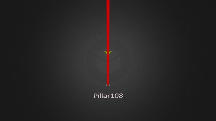 Pillar108 3D Model