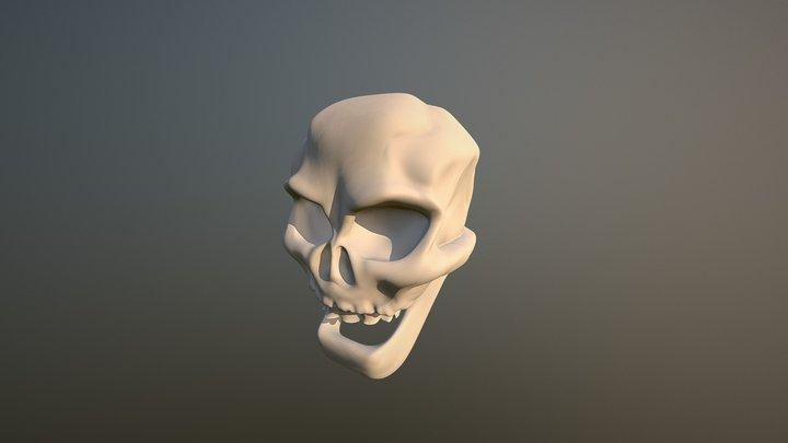 Skull 1 3D Model