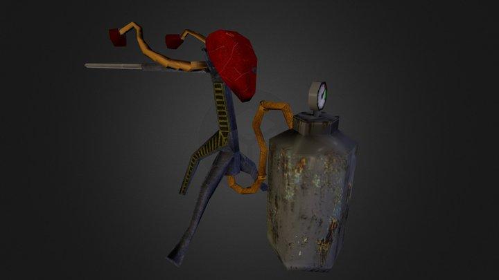 Cogburn's Barbequicker 3D Model