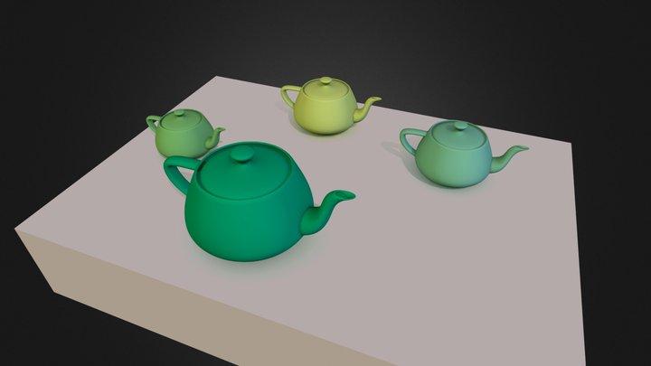 teste teaptos 3D Model