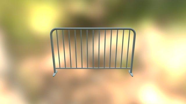 Basic Fence 3D Model