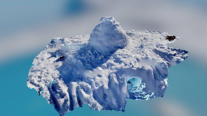 Igloo in Norway 3D Model