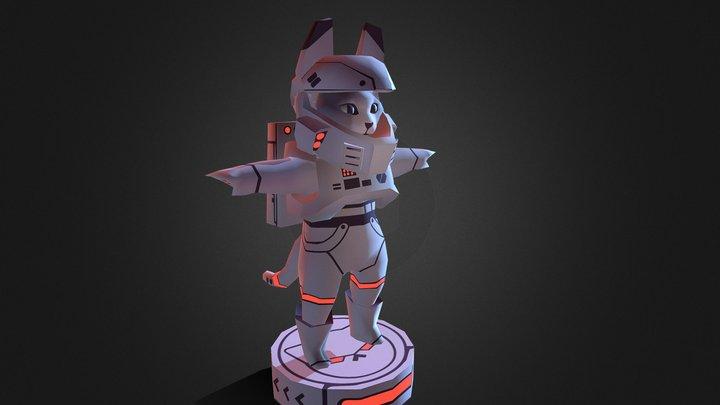 meownaut 3D Model