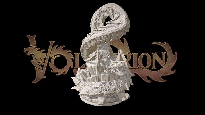 Volfyirion the Dragon 3D Model
