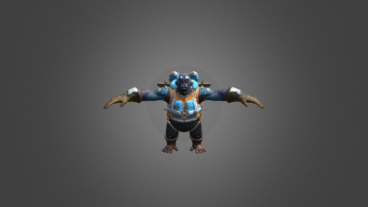 London Spitfire | Flying Ace Winston Skin 3D Model