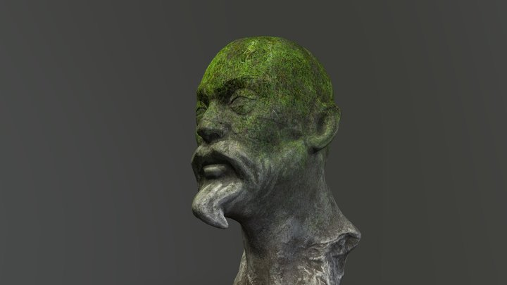 Ancient bust 3D Model