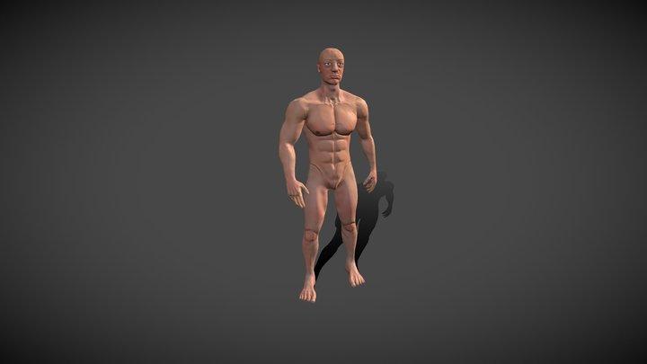 Character Model 3D Model