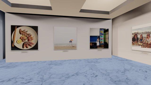 Instamuseum for @worldofnat 3D Model