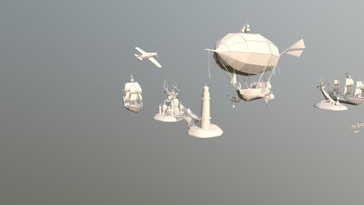 Light Druft 3D Model