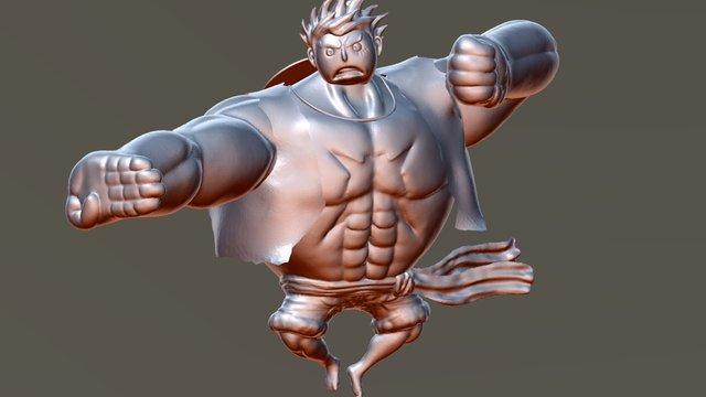 SculptJanuary Day 28 : Superhero 3D Model