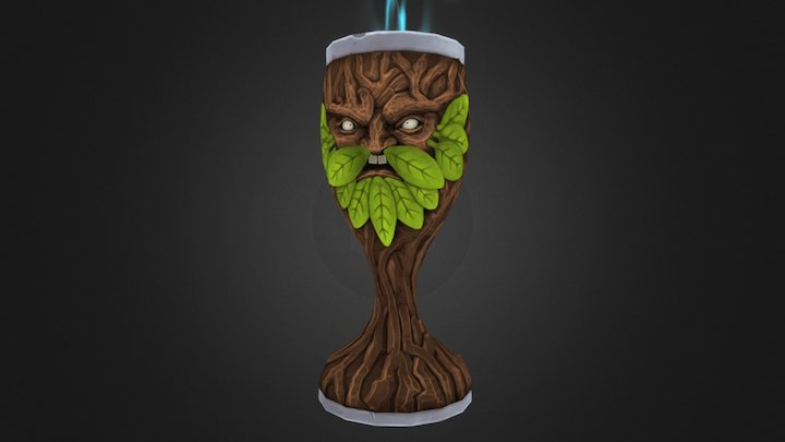 Goblet Of Life 3D Model