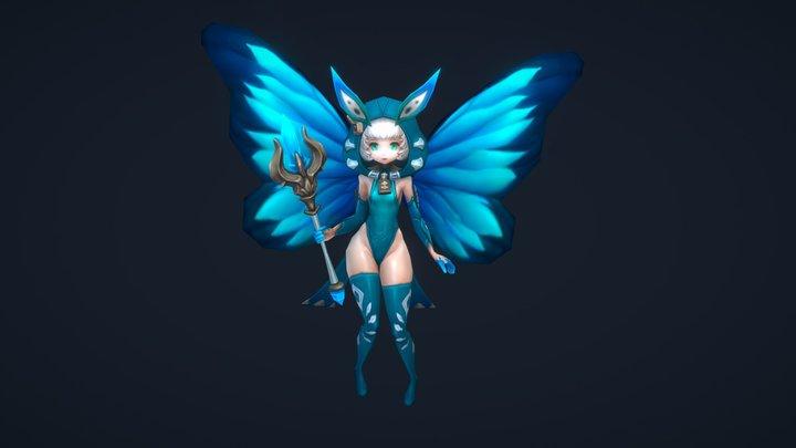 Fairy girl 3D Model