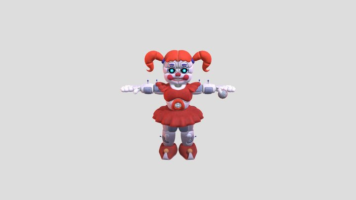 Circus Baby Special Delivery 3D Model